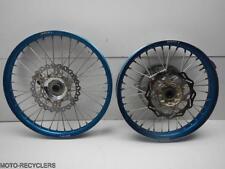 08 YZ450F YZ450 YZ 450 Front Wheel Rim Rear Set #204-16837