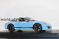 GT Spirit WAX02100010 Porsche 911 991 Targa 4S bleu golfe 1:18 Exclusif