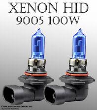 x2 9005 HB3 100W Xenon Halogen Upgrade Super White HID Replace Light Bulbs M169