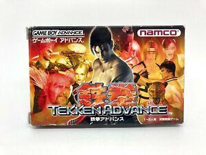 GAME BOY ADVANCE GBA - TEKKEN ADVANCE - JAPAN VERSION