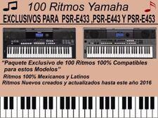 Ritmos Mexicanos, PSR-E443, PSR-E433, PSR-E453 y PSR-EW400 / EXCLUSIVOS 100%
