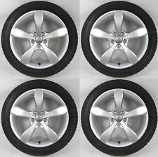 "SET OF FOUR GENUINE AUDI A1 S1 16"" ALLOY WHEELS + DUNLOP WINTER TYRES 5x100"