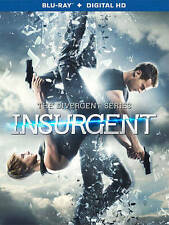 The Divergent Series: Insurgent Blu-ray Disc, 2015, Includes Digital Copy NEW