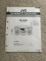 JVC MC-K50R Compact Component System Schematic Diagrams Service Manual