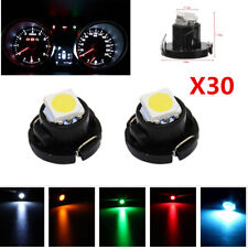 30pc T4/T4.2 Neo Wedge 1-SMD Cluster Instrument Dash Climate Control Light Bulbs