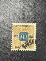 Denmark Scott 144 Used Surcharged - 75% Off Sale With Free US Shipping