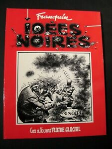 IDEES NOIRES Franquin EO Ed. AUDIE  1981 TBE