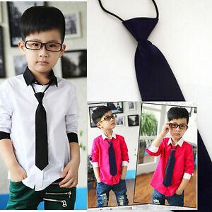 10PC LOT Purple Infant Toddler Boys Ties Match Your Wedding Elastic Neckties Set
