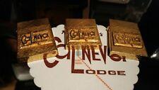 Frank Sinatra's Cal-Neva Lodge Gold Tone Lighters Collection Cal Neva Vintage