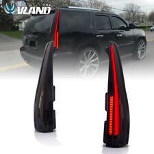 2016 Model Blackout LED Tail Lights For Cadillac Escalade / ESV 2007-2014 1 Pair