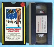 VHS Film Ita Poliziesco COMMISSARIATO DI NOTTURNA Gastone Moschin no dvd lp (V0)