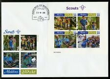MALDIVES  2019  SCOUTS  SHEET  FIRST DAY COVER
