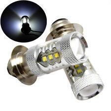 Bid 2X 80W LED Head Light Bulbs for Yamaha YFZ450 Banshee YFZ350 Kawasaki KLX250