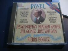 Ravel Jessey Norman Pierre Boulez Heather Harper Sherezade Chansons madecasses