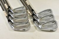Titleist CB 712 4-PW Iron Set Right Dynamic Gold Seniscore Stiff Flex # 77191