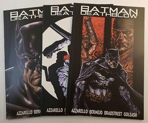 Batman Deathblow #1-3 set VF/ NM DC Comics 2002