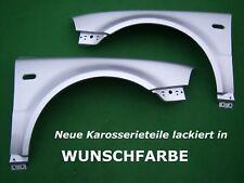 VW Passat 3BG KOTFLÜGEL+ BLINKERLOCH SATZ NEU LACKIERT IN WUNSCHFARBE