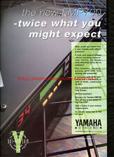 Yamaha EMP700 Multi Effects Processor 1992 Magazine Advert #5663