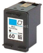 For HP 60 Black Ink Cartridge For HP60 CC640WN CC640 For HP Printer