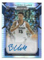 Brandon Clarke Rookie Auto #d /75 2019-20 Prizm Draft Hyper Memphis Grizzlies RC