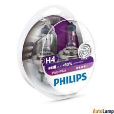 PHILIPS VisionPlus H4 12V Bombilla del faro Set 12342VPS2