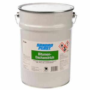 GP.3,50€/L 10L Bitumen Dachanstrich Isolieranstrich Kaltanstrich Bitumenanstrich