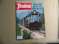 Trains Magazine / August 1979 / Free Domestic Shipping