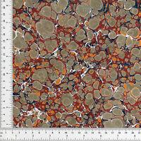 Hand Marbled Paper 48x66cm 19x26in Book Binding Bindery Supplies Series