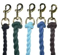 Cotton Lead Rope 2 Mtr  - choice of Colours FROM £1.70