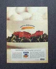 F680- Advertising Pubblicità - 1963 - MANZOTIN , NOVITA' RIO