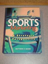 SPORTS MARKETING A Strategic Perspective by Amtthew Shank 2nd Edition 2001 NEW