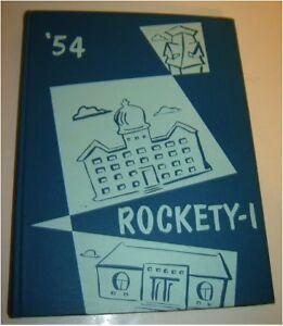 Augustana College 1954 yearbook Rock Island Illinois