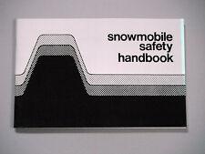 1976-1982 Vintage Arctic Cat Snowmobile Safety Handbook