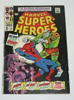 Marvel Super-Heroes #14 Spider-Man 1968 Silver Age Marvel Comics FN/VF