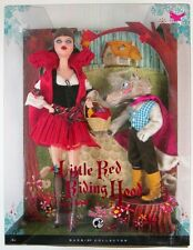 Little Red Riding Hood and the Wolf Barbie Doll Gift Set (Silver Label) (NEW)