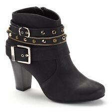 Jennifer Lopez Women's High Heel Ankle Boots - Size 9.5(M)-New in Box