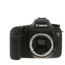 Canon 7D EOS DSLR camera 18MP HD video Used