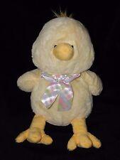 Tesco Chick giocattolo morbido Piumone Doudou Buona Pasqua schiacciami amici YELLOW Bird