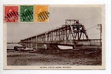 CANADA carte postale ancienne MONTREAL victoria jubilee bridge pont victoria