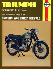 Triumph Motorcycle Manuals and Literature 1973 Year of Publication Repair