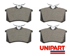 Peugeot - 307 2002-2008 / 308 2008-On Rear Brake Pads Set Top Quality Unipart