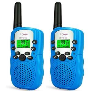 Children Walkie Talkies 2 Pcs Long Range Kids Walky Talky UHF 446MHz 8 Channel