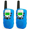 Children Walkie Talkies 2 Pcs Long Range Kids Walky Talky UHF 446MHz 8 Channel
