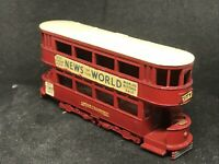 Matchbox Yesteryear Y3 Series 1 Issue 13 1907 London 'E' Class Tramcar
