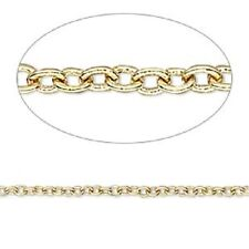 Jewelry making open curb Chain 96 inch each 6 in pack