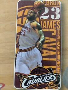NEW Lebron James 23 Cleveland Cavaliers NBA Towel Beach Pool Souvenir 28 X 58