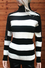 Karen Millen Polo Neck Striped Jumpers & Cardigans for Women