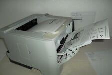 HP P2055dn LaserJet Printer Compact Mono Ethernet USB w/96% Toner 1200dpi CE459A