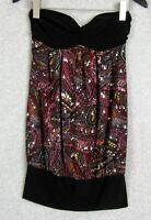Body Central Sequin Dress Womens Strapless Size S Small Club Dance