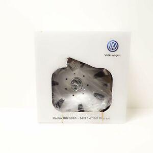 VW FOX Wheel Cover Trim Set 14inch 5Z0071454 NEW GENUINE